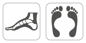 orthotic inserts for safety shoes and safety boots, work shoes and work boots + comfort boosters prevent pain and damage to feet, knees and hips + quality made in Germany