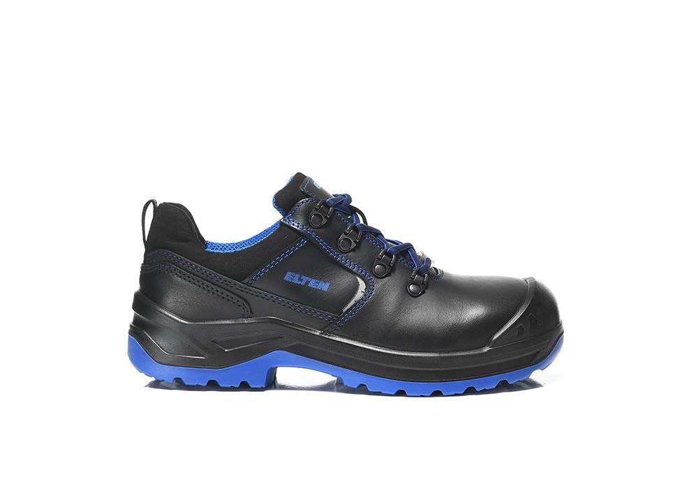 ELTEN Damen Sicherheitsschuhe LENA black blue Low ESD S3