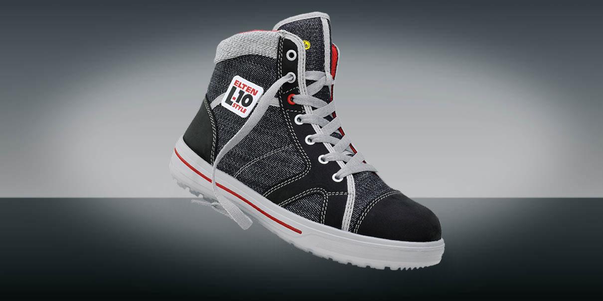 Sicherheitsschuhe L10 ELTEN in Sneaker GmbH Optik 3AjL54Rcq