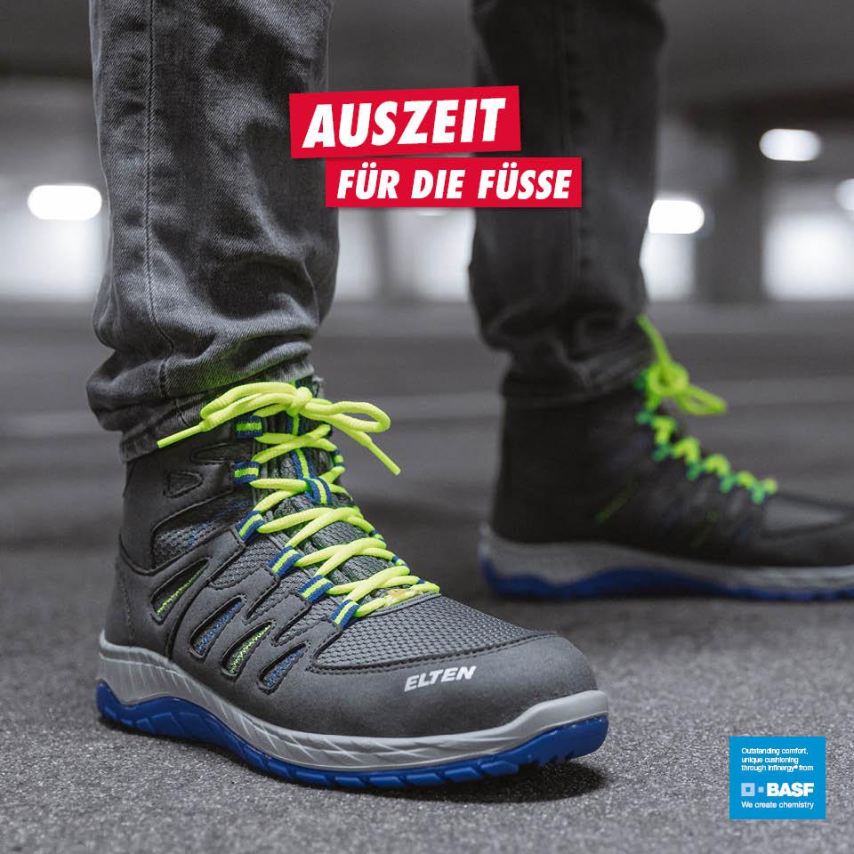 Schuhe & Stiefel Elten Sicherheitsschuhe Arbeitsschuhe Jori Jo_grip Mid S3 Stiefel Stahlkappe