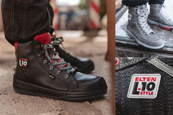 Sicherheitsschuhe L10 in Sneaker Optik ELTEN GmbH