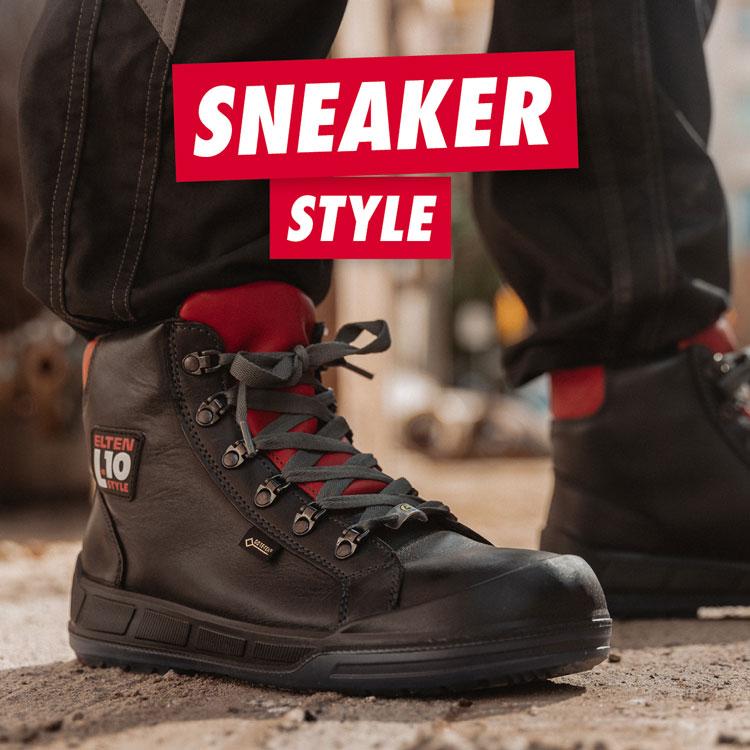 Elten Vintage Pirate Mid Sneaker S3 ESD Sicherheitsschuhe