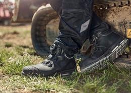 bouwschoenen met demping